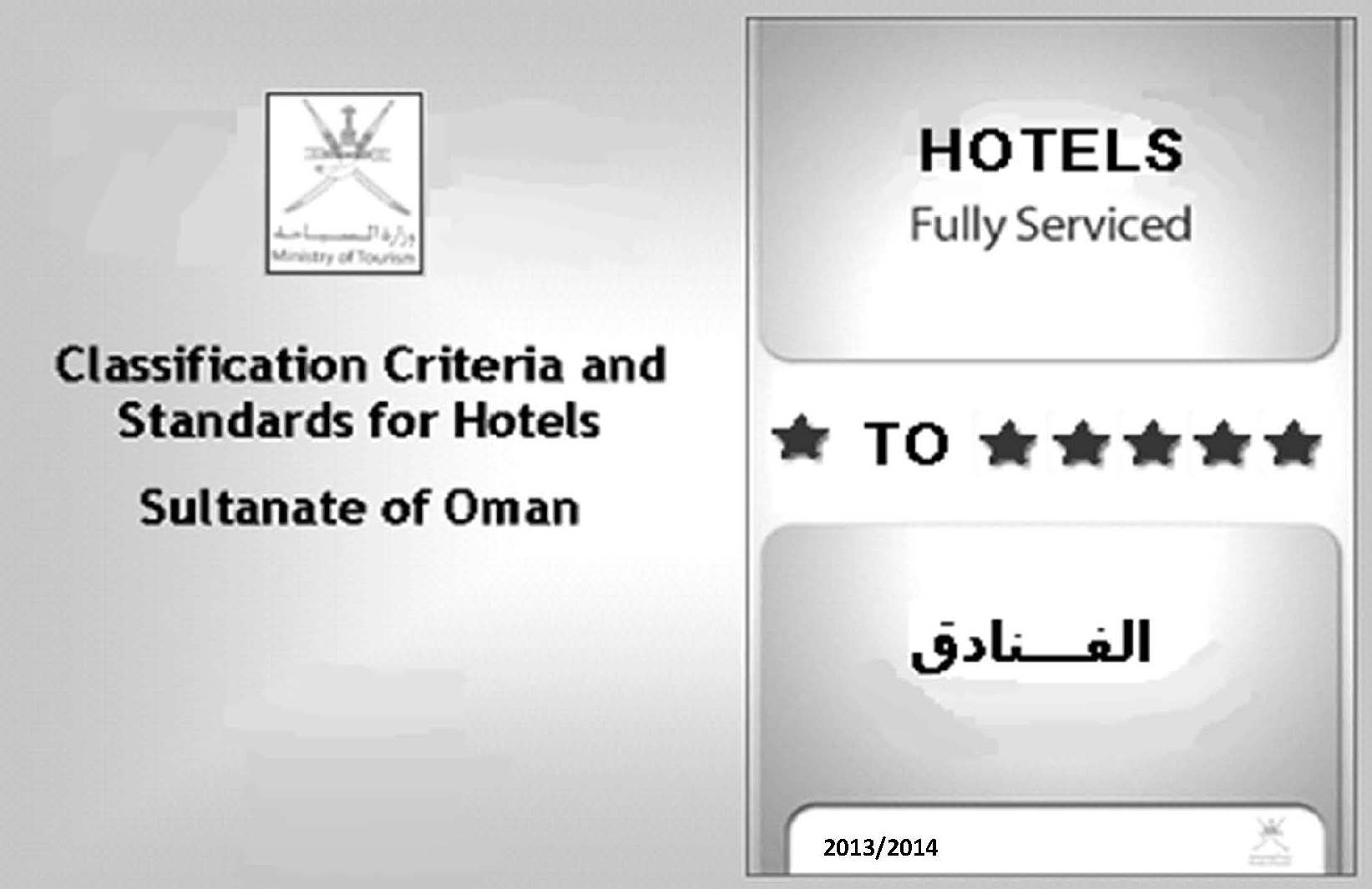 Hotel Regulations Codes Requirements in Oman