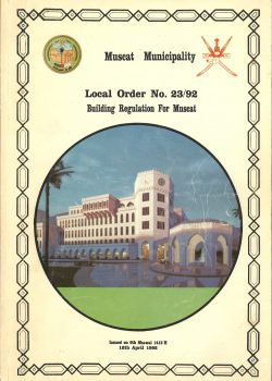 Muscat Municipality Regulation Building Codes Oman